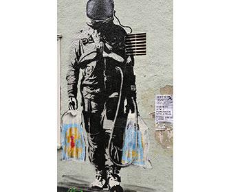 Banksy-walking