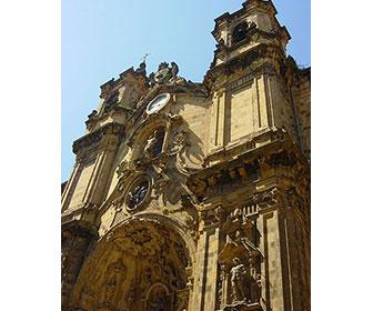 Basílica-de-Santa-Maria-del-Coro-en-San-Sebastian