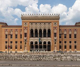 Biblioteca-de-Sarajevo