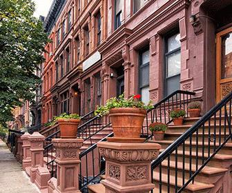 Brownstones-Harlem-Nueva-york