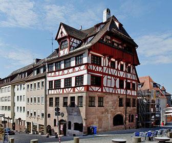 Casas-de-alberto-durero-en-Nuremberg