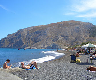 Kamari-Santorini