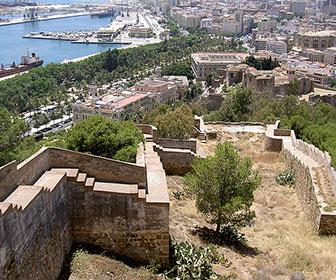 Malaga-Castillo-de-Gibralfaro