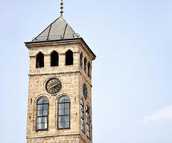 Torre-del-reloj-Sarajevo