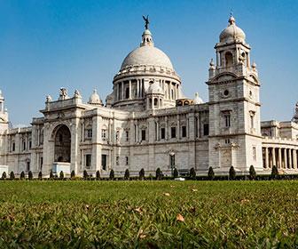 Victoria-Memorial-en-Calcuta