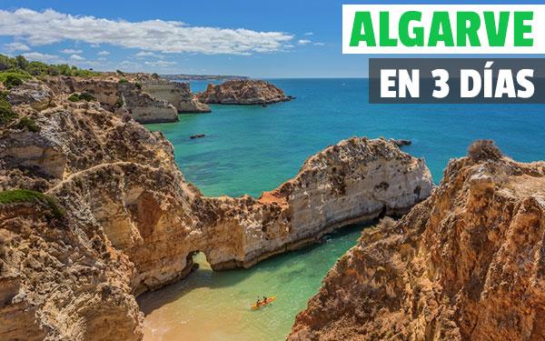 El Algarve üzerinden 3 günlük rota