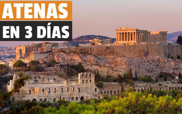 Αθήνα σε 3 ημέρες Ανακαλύψτε τι να δείτε στην Αθήνα ένα σαββατοκύριακο!