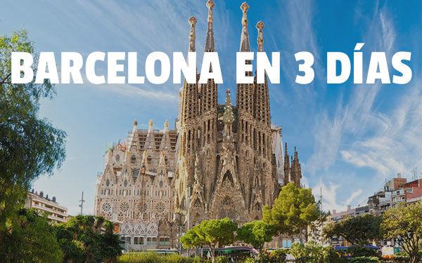 Βαρκελώνη σε 3 ημέρες SUPERGUÍA de Barcelona ιδανική για getaways
