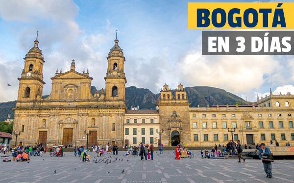 Μπογκοτά σε 3 ημέρες Γνωρίστε τη Μπογκοτά σε τρεις μέρες με τον οδηγό μας