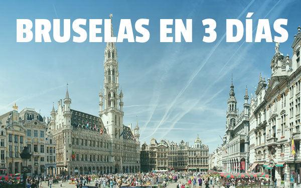 Brükselde 3 gün Hafta sonu kaçamağı veya köprü Brükselde