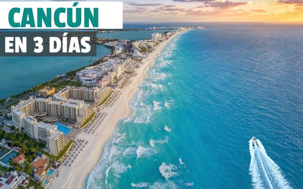 3 dagar i Cancun och omgivningar