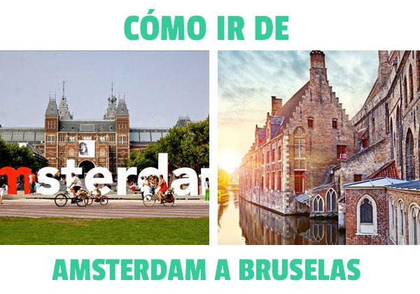 Cum să mergi de la Amsterdam la Bruges? Toate opțiunile posibile