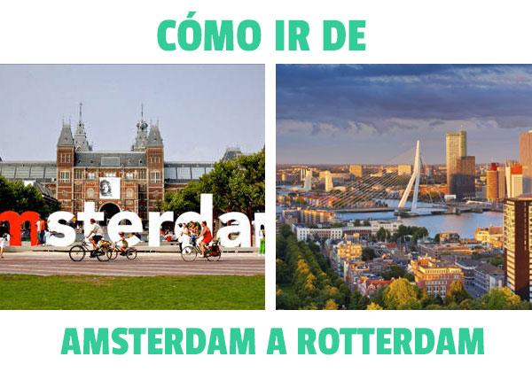Πώς να φτάσετε από το Άμστερνταμ στο Ρότερνταμ? Όλες οι πιθανές επιλογές!