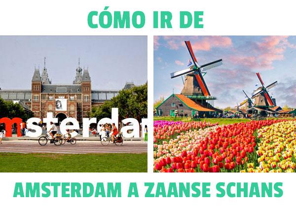 Πώς να φτάσετε από το Άμστερνταμ στο Zaanse Schans?