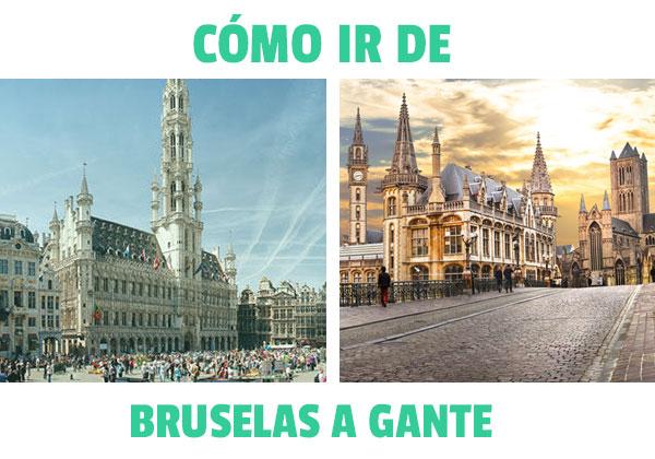 Πώς να πάτε από τις Βρυξέλλες στη Γάνδη? Όλες οι επιλογές για να επιλέξετε