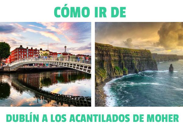 Πώς να φτάσετε από το Δουβλίνο στους Cliffs of Moher? Όλες οι επιλογές!