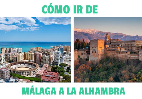Cum să mergi din Malaga în Alhambra din Granada? Verificați opțiunile