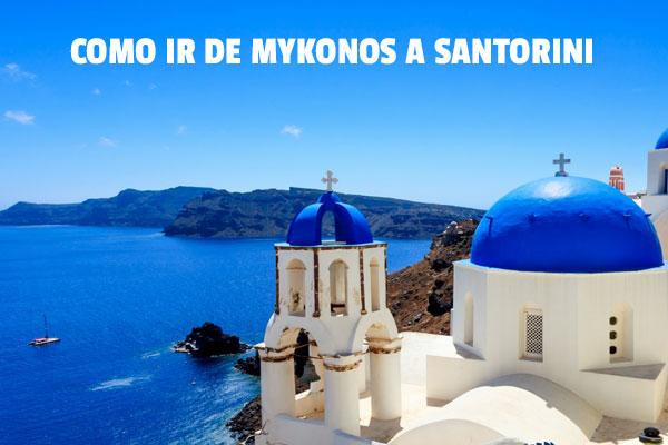 Cum să mergi de la Mykonos la Santorini?