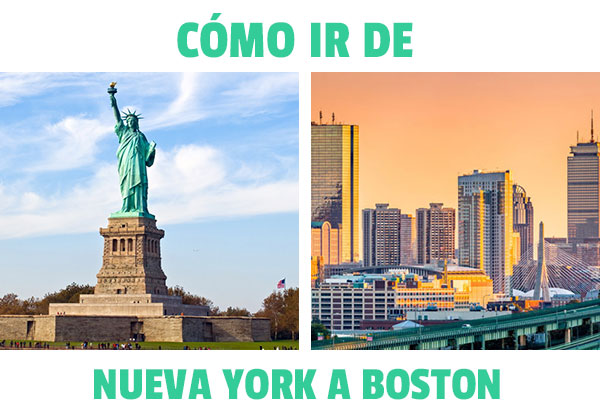 Πώς να φτάσετε από τη Νέα Υόρκη στη Βοστώνη? Όλες οι δυνατότητες να πάτε!
