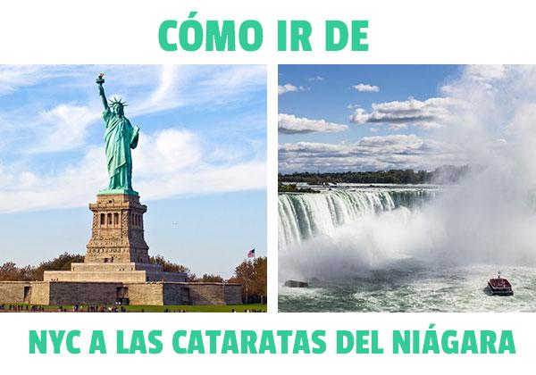 Cum se ajunge de la New York la Niagara Falls? Toate opțiunile