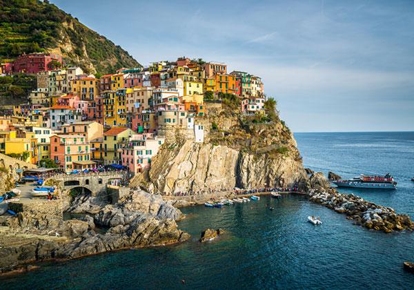 Πόσες μέρες βλέπει η Cinque Terre?