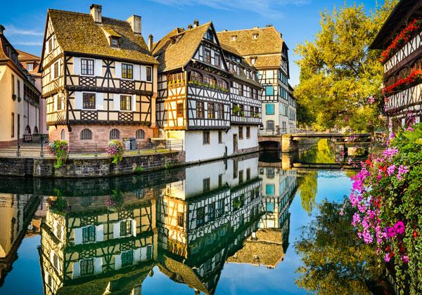 Hur många dagar ser Strasbourg ut?