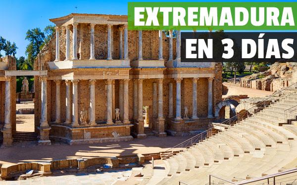 Extremadura σε 3 ημέρες - Πλήρης οδηγός για ταξίδια μέσω Extremadura!