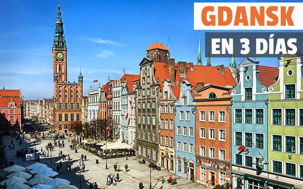 Gdansk på 3 dagar Komplett guide och gratis turné med Gdansk Gift