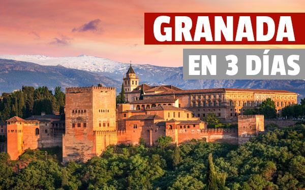 Granada în 3 zile Ghid turistic conceput timp de 3 zile în Granada