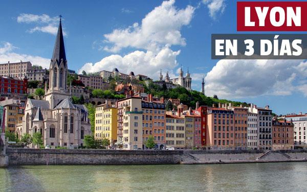 Lyon på 3 dagar Komplett gratis reseguide för Lyon gratis