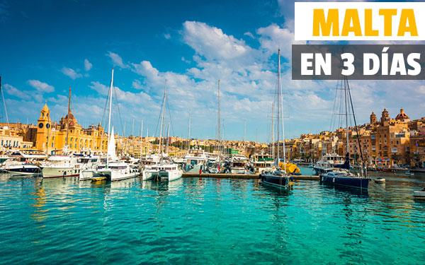Malta 3 gün içinde Seyahat Rehberi Malta üç gün içinde görmek için