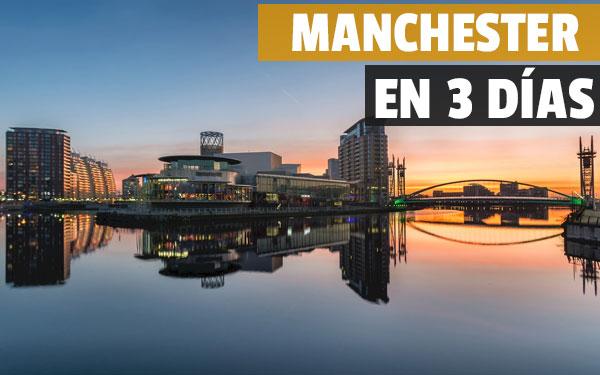Manchester på 3 dagar - Komplett reseguide och gratis presenttur