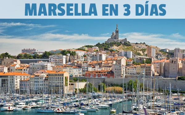 Marsilia în 3 zile Ghid complet și tur gratuit al cadoului din Marsilia