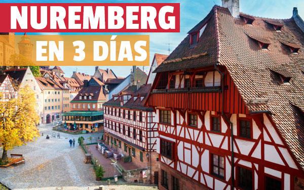 Nuremberg în 3 zile Ghid complet la Nürnberg