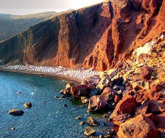 playa-roja-santorini