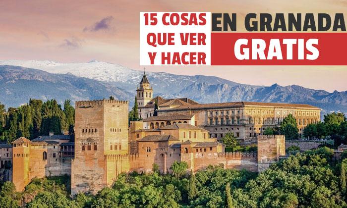 Ce să vezi în Granada Free? 15 lucruri gratuite de văzut și de făcut în Granada