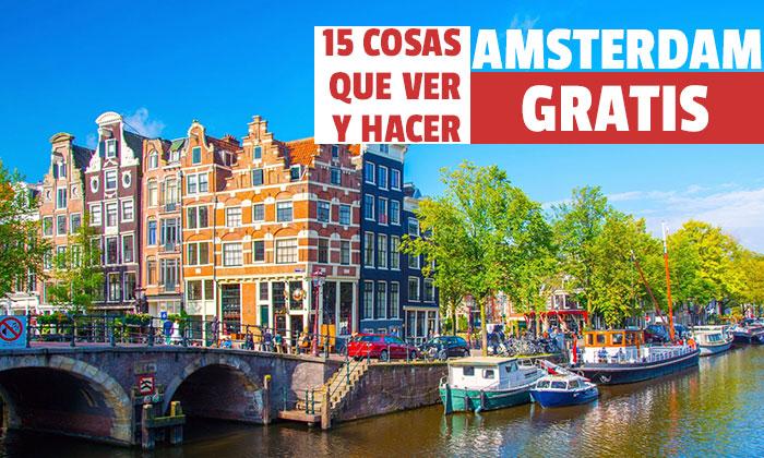 Τα 15 καλύτερα πράγματα που βλέπετε στο Άμστερνταμ Δωρεάν Θα παραισθηθείτε!