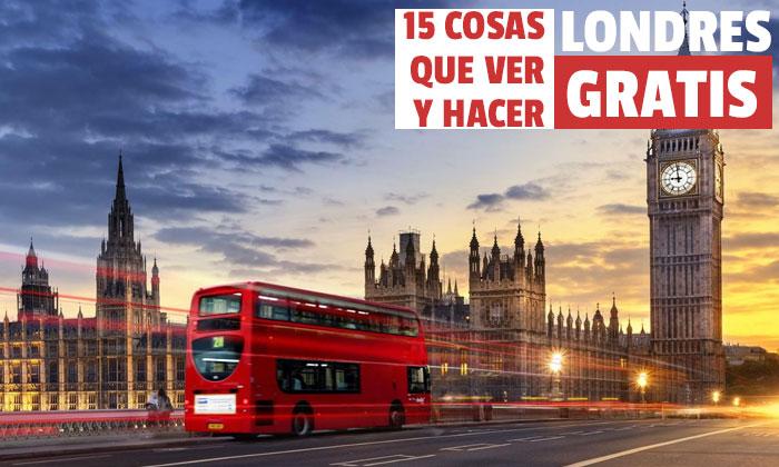 Τι να δείτε δωρεάν στο Λονδίνο? 15 100% Δωρεάν Δραστηριότητες στο Λονδίνο