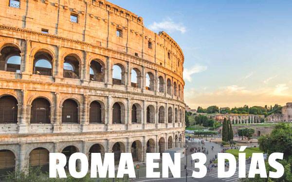 Ρώμη σε τρεις ημέρες SUPERGUÍA Το καλύτερο της Ρώμης σε 3 ημέρες ταξιδιού