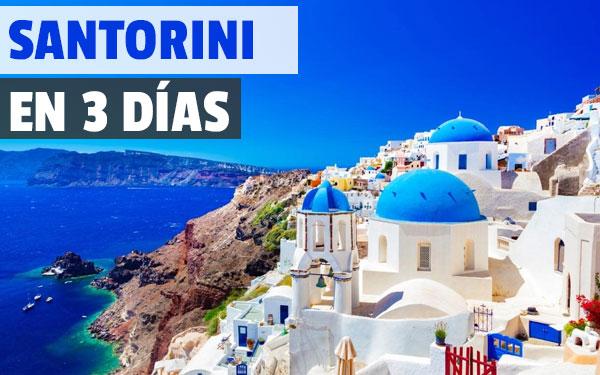 Σαντορίνη σε 3 ημέρες Διαδρομή και Ιταλικό για το νησί Σαντορίνη σε 3 ημέρες