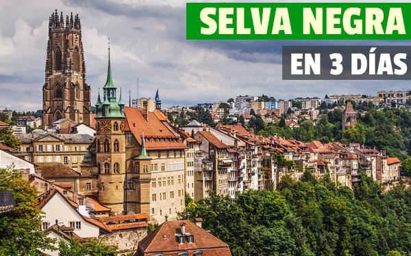 Διαδρομή 3 ημερών μέσω του Μέλανα Δρυμού (Γερμανία)