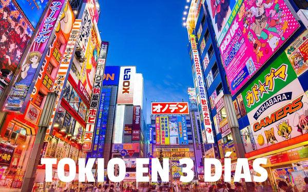 Tokyo în 3 zile Cel mai bun ITINERAR pentru a călători la Tokyo