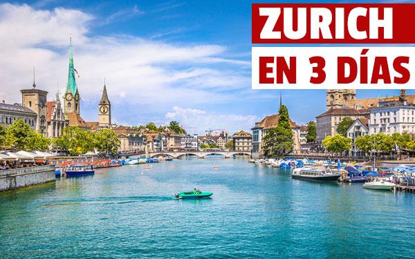 Zurich în 3 zile Ghid pentru o escapadă de 3 zile la Zurich